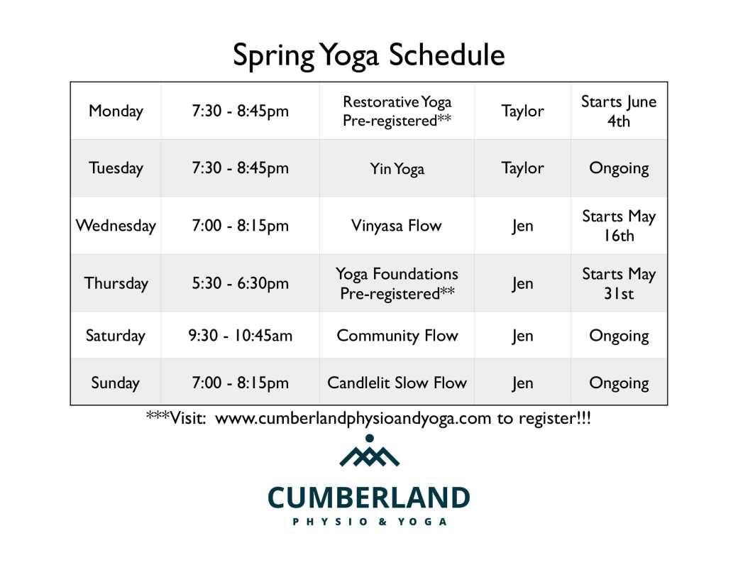 Spring Schedule-1